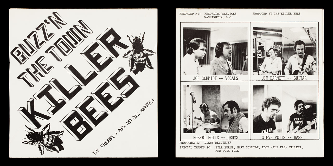 Killer Bees covers on Limp Records