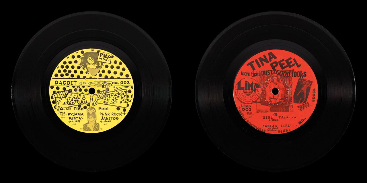 Tina Peel More Than Just Good Looks vinyl on Limp Records
